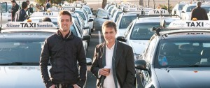 goCatch founders Andrew Campbel and Ned Moorfield (Photo: supplied)