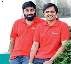 Founders Mukesh Manda and Chaitanya Degala.