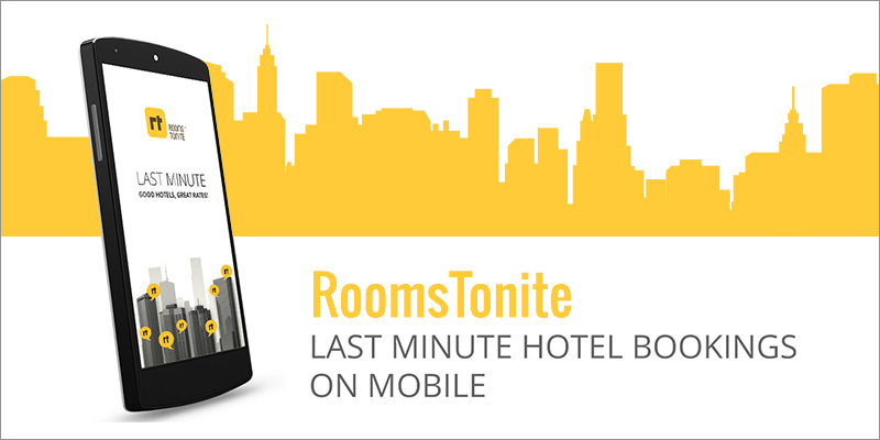 """An App-Only """"RoomsTonite"""" Is Transforming the On-Demand Hotel Services Industry 